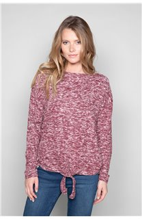 Sweater Sweater CHARLY Woman W18315W (40139) - DEELUXE-SHOP
