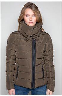 Puffy Jacket Puffy Jacket OSLO Woman W18603W (40209) - DEELUXE-SHOP
