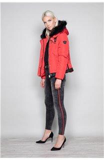 Puffy Jacket CHRISTIE Woman W18611W (40216) - DEELUXE-SHOP