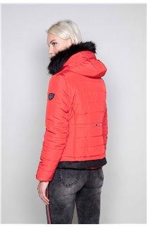 Puffy Jacket CHRISTIE Woman W18611W (40217) - DEELUXE-SHOP