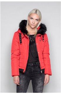 Puffy Jacket CHRISTIE Woman W18611W (40218) - DEELUXE-SHOP