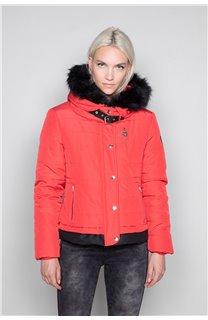 Puffy Jacket CHRISTIE Woman W18611W (40219) - DEELUXE-SHOP