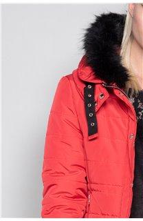 Puffy Jacket CHRISTIE Woman W18611W (40220) - DEELUXE-SHOP