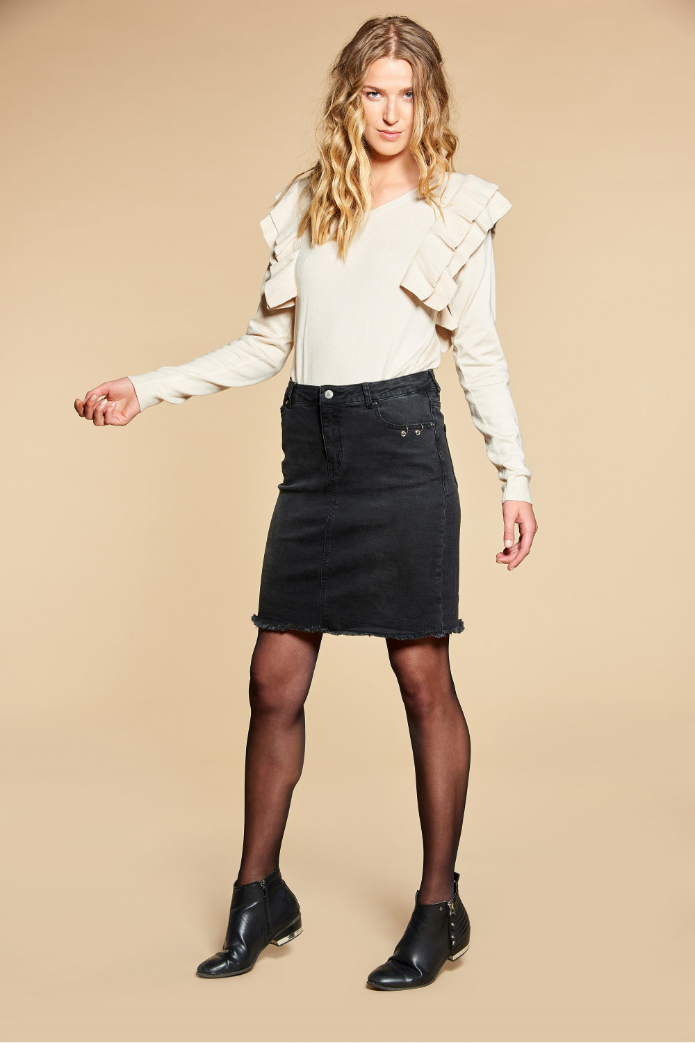 Skirt Skirt JACE Woman W18765W (40249) - DEELUXE-SHOP
