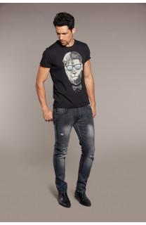 T-shirt LIONMAN Man W18135 (40423) - DEELUXE-SHOP