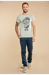 T-shirt LIONMAN Man W18135 (40425) - DEELUXE-SHOP