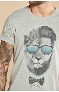 T-shirt LIONMAN Man W18135 (40429) - DEELUXE-SHOP