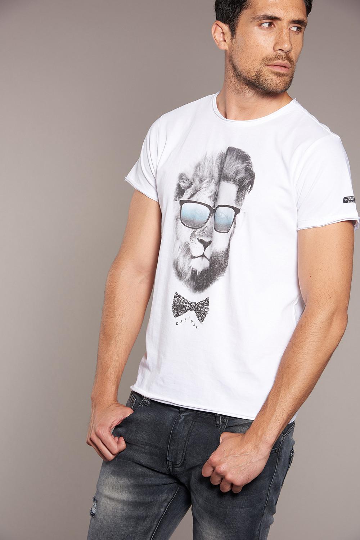 T-shirt LIONMAN Man W18135 (40433) - DEELUXE-SHOP