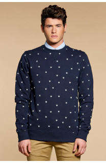 Sweatshirt Sweatshirt HALIFAX Man W18523 (40551) - DEELUXE-SHOP