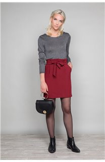 Sweater SWEATER LACY Woman W18316W (40616) - DEELUXE-SHOP
