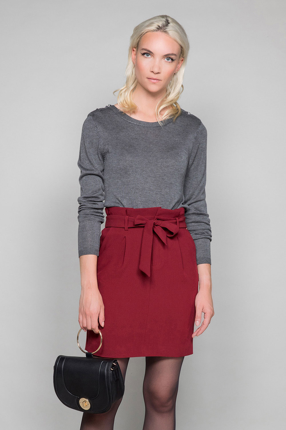 Sweater SWEATER LACY Woman W18316W (40617) - DEELUXE-SHOP