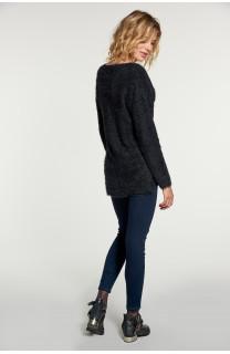 Sweater PILE Woman W18310W (40622) - DEELUXE-SHOP