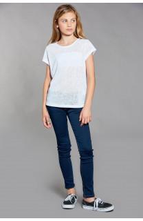 T-shirt T-SHIRT GLITTER Girl W18113G (40624) - DEELUXE-SHOP