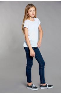 T-shirt T-SHIRT GLITTER Girl W18113G (40625) - DEELUXE-SHOP