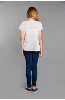 T-shirt T-SHIRT GLITTER Girl W18113G (40628) - DEELUXE-SHOP