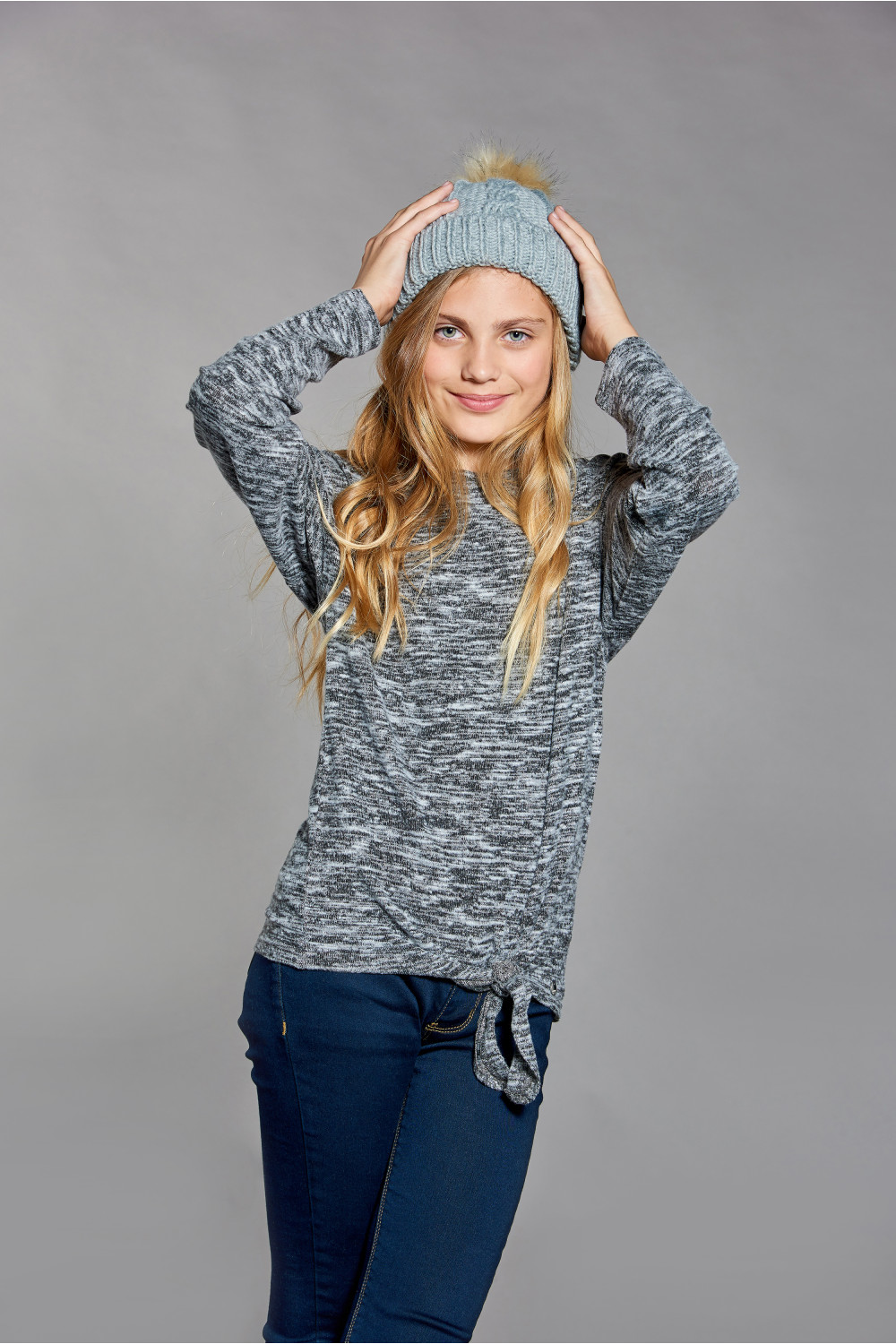 Pull CHARLY Fille W18315G (40633) - DEELUXE