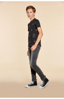 T-Shirt DEVIL Garçon W18150B (40649) - DEELUXE