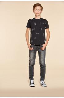 T-Shirt DEVIL Garçon W18150B (40650) - DEELUXE