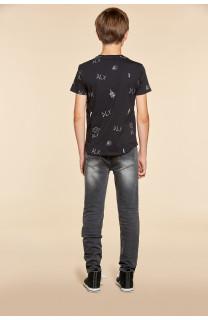T-Shirt DEVIL Garçon W18150B (40652) - DEELUXE