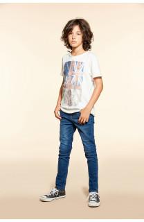 T-shirt T-SHIRT FLAGY Boy W18160B (40654) - DEELUXE-SHOP