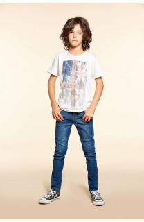 T-shirt T-SHIRT FLAGY Boy W18160B (40655) - DEELUXE-SHOP