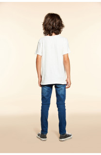 T-shirt T-SHIRT FLAGY Boy W18160B (40657) - DEELUXE-SHOP