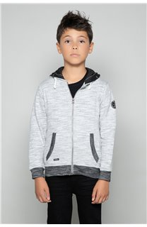 Sweat NEWSTEP Garçon W18552B (40667) - DEELUXE