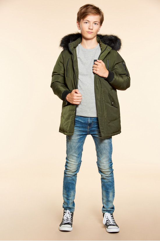 Parka SHARKSON Boy W18667B (40672) - DEELUXE-SHOP