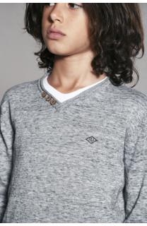 Sweater SWEATER SINGLE Boy W18316B (40935) - DEELUXE-SHOP