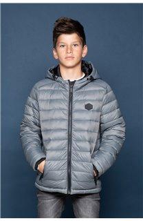 Puffy Jacket Puffy Jacket SUNSHINE Boy W18644B (40992) - DEELUXE-SHOP