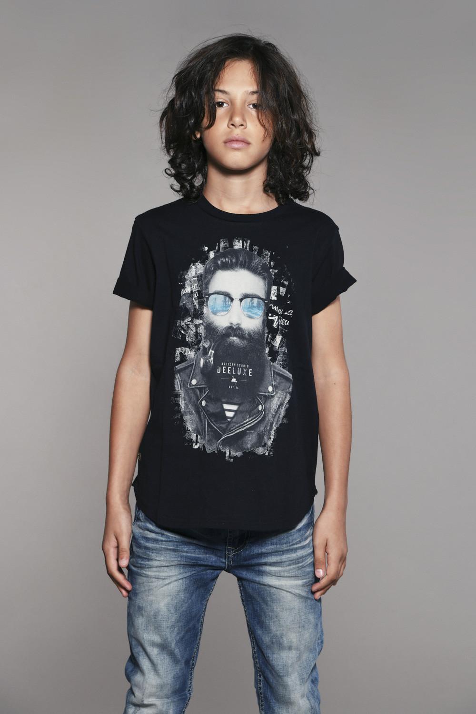 T-shirt T-shirt CLYDE Boy W18132B (41051) - DEELUXE-SHOP