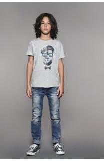 T-Shirt LIONMAN Garçon W18135B (41054) - DEELUXE