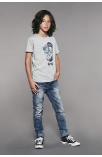 T-Shirt LIONMAN Garçon W18135B (41055) - DEELUXE