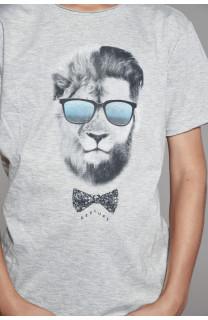 T-shirt LIONMAN Boy W18135B (41058) - DEELUXE-SHOP