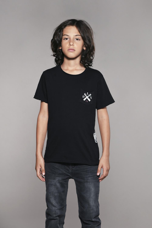T-shirt SKULLFLOWER Boy W18165B (41066) - DEELUXE-SHOP