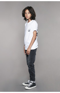 T-shirt T-shirt SKULLFLOWER Boy W18165B (41070) - DEELUXE-SHOP