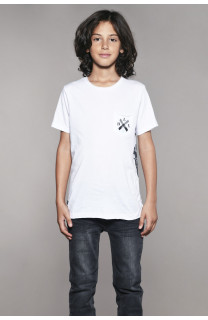 T-shirt T-shirt SKULLFLOWER Boy W18165B (41071) - DEELUXE-SHOP