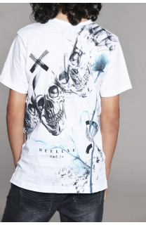T-shirt T-shirt SKULLFLOWER Boy W18165B (41073) - DEELUXE-SHOP