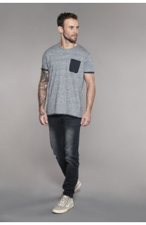 T-shirt T-shirt ABOVE Man W18148 (41121) - DEELUXE-SHOP