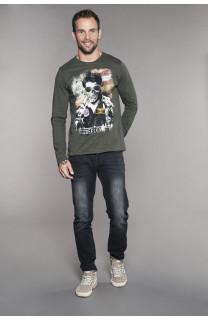 T-shirt MAVERICK Man W18198 (41197) - DEELUXE-SHOP