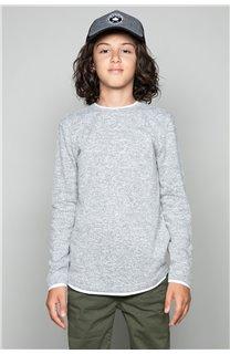 T-shirt T-SHIRT MOHANSON Boy W18119B (41224) - DEELUXE-SHOP