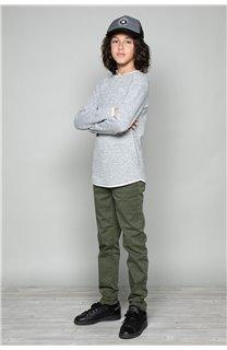 T-Shirt MOHANSON Garçon W18119B (41226) - DEELUXE