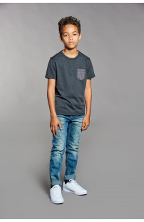 T-shirt T-shirt ANSWER Boy W18123B (41227) - DEELUXE-SHOP