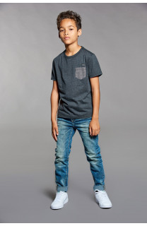 T-shirt T-shirt ANSWER Boy W18123B (41229) - DEELUXE-SHOP