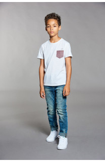 T-shirt T-shirt ANSWER Boy W18123B (41232) - DEELUXE-SHOP