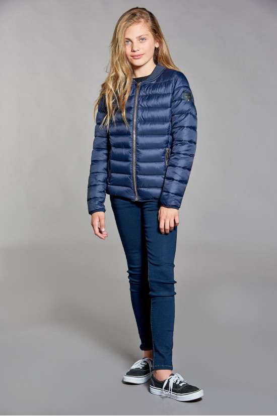 Puffy Jacket Puffy Jacket SULLY Girl W18607G (39250) - DEELUXE-SHOP