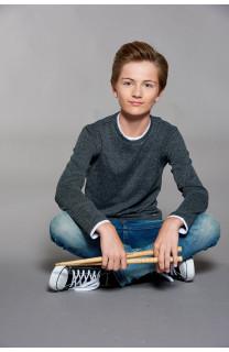 T-shirt T-SHIRT MOHANSON Boy W18119B (41251) - DEELUXE-SHOP