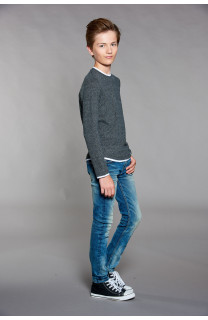 T-shirt T-SHIRT MOHANSON Boy W18119B (41252) - DEELUXE-SHOP