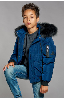 Parka JACKET SHARK Boy W18650B (41321) - DEELUXE-SHOP