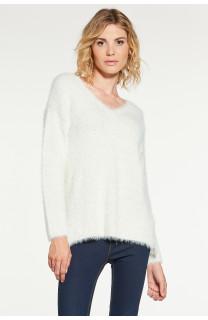Sweater PILE Woman W18310W (41328) - DEELUXE-SHOP